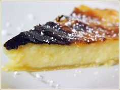 Chocolate Morno: Tarte de nata falsa