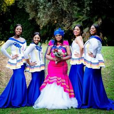 Modern TSWANA SHWEAHWE WEDDING in 2020 have become more fascinating and we have gathered a list of some of the best ones you would love Pedi Traditional Attire, Sepedi Traditional Dresses, African Traditional Wedding, African Wedding Attire, African Attire, African Dress, African Fashion Skirts, South African Fashion, Royal Clothing