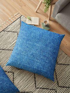 """Denim"" Floor Pillow by -VaLLy- | Redbubble"