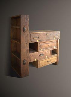 Refurbished Furniture, Repurposed Furniture, Furniture Makeover, Painted Furniture, Diy Furniture, Furniture Design, Office Furniture, Diy Wood Projects, Woodworking Projects