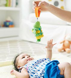 These fun toys will help encourage your baby with Down syndrome's development.
