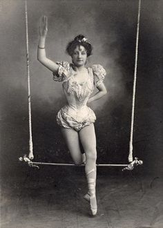 Victorian circus performer