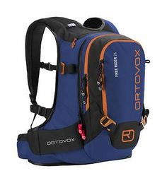 c94a9a64e1 Zaino Backpack Sci Freeride Ciaspole Snowboard Ortovox FREE RIDER 26 strong  blue