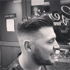 High and Tight tapered classic undercut