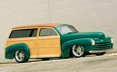 47 Ford Woodie