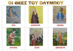 dreamskindergarten Το νηπιαγωγείο που ονειρεύομαι !: Οι 12 Θεοί του Ολύμπου - λίστες αναφοράς Ancient Greece, Greek Mythology, Polaroid Film, School, Crafts, Manualidades, Schools, Handmade Crafts, Craft