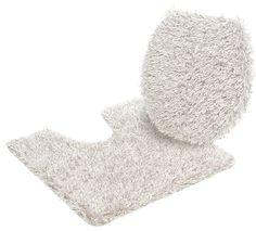 Details:  Uni-Badteppich, Melange-Effekt, Besonders feiner, flauschiger Flor, Nicht Trocknergeeignet, Fussbodenheizungsgeeignet, Mit rutschhemmender Rückenbeschichtung,  Qualität:  Handgetuftet, 3,2 kg/m² Gesamtgewicht (ca.), 38 mm Gesamthöhe (ca.), Waschbar bei 40°C, Latexierter Rücken, Ringsum eingefasst (gekettelt),  Flormaterial:  100 % Polyester,  Wissenswertes:  WC-Deckel im 2-tlg. Set is...