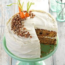 Gluten-Free Carrot Cake with Cream Cheese Frosting: King Arthur Flour