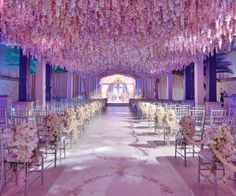 Wedding Ceremony Idea from Celebrity Designer Preston Bailey - Create a Heaven on Earth from #InStyle