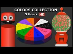 Learn Colors Gumball Machine, Learning Colors Collection, Teach Colours, to Children Kids Videos - YouTube