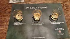 Whiskey tasting yesterday at the Jamesons Experience in Midleton  #whiskey #tasting #Jameson #Midleton #Ireland #Cork #instawhiskey #instatravel #travelling