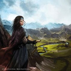 Gondorian woman. Magali Villeneuve