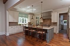 Kitchen Colonial Garrison Design, Pictures, Remodel, Decor and Ideas