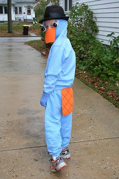 diy perry the platypus costume perry the platypus diy