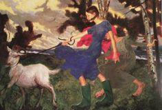 Jamie Wyeth - Wind
