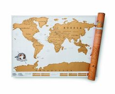 Scratch off world map travel poster black travel posters vacation luckies scratch map personalised world map publicscrutiny Images