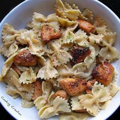 Cajun Chicken Alfredo Pasta ~ International Recipes - Foods and Drinks
