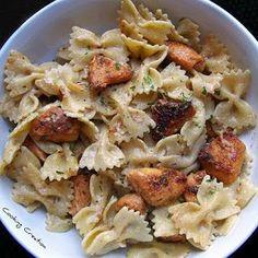 Cajun Chicken Alfredo Pasta ~ International Recipes - Foods and Drinks