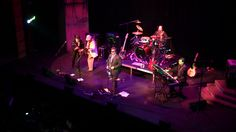 """Temecul, California based classic rock tribute band, Mrs. Jones' Revenge, """"over 40 classic rock tribute bands rolled into one"""", performing at the Old Town Temecula Community Theater."""