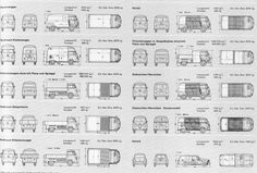 VW Type 2 T1 & Type 3 Variant