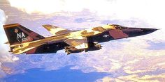 A 428th Tactical Fighter Squadron General-Dynamics F-111A Aardvark out of Nellis AFB, Nevada 1969.