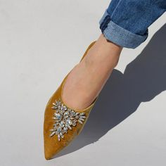 Lockhart | Bejeweled Mules | Mystique Sandals