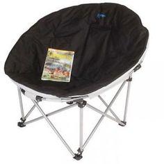 Kampa GREY Eclipse XL camping caravanning folding moon chair 2016 FT0012
