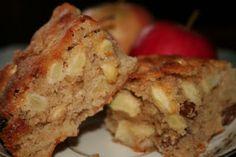 Ciasto jablkowe z orzechami