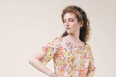 Floral Print Dress  mini dress Women  dress by PoudraFashion, $79.00