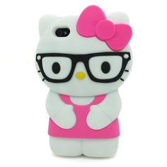 HJX Hot Pink iPhone 4/4S Lovely 3D Glasses Hello Kitty Soft Silicone Case Protective Cover Skin for Apple iPhone 4 4S 4G Generic,http://www.amazon.com/dp/B00D2UF8HA/ref=cm_sw_r_pi_dp_83Tptb032AFVDXRR