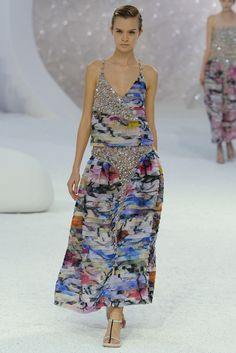 e5e69c4d Chanel Spring Summer 2012 Ready-to-Wear Collection by Karl Lagerfeld at the  Paris Fashion Week Karl Lagerfeld got the inspiration for the Spring 2012  Ready- ...