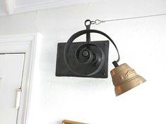Bell bracket, handmade ironwork by Tom Fell - Blacksmith