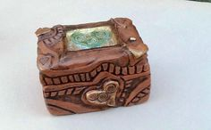 Wedding Ring Box by clayscenes on Etsy, $40.00