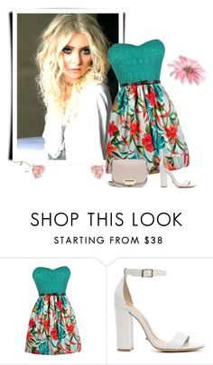 """Summer styl"" by mersy-followme ❤ liked on Polyvore featuring Schutz, ZAC Zac Posen, shoes, dresses and bags"