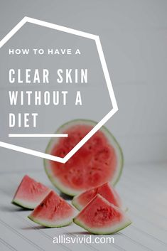Tired of trying new cosmetics, diets and medicine for clear skin? Try this simple approach to your food habits and I promise you see results immediately. Clear Skin Face, Clear Skin Diet, Skin Tips, Skin Care Tips, Clear Skin Overnight, Anti Itch Cream, Clear Pores, At Home Face Mask, New Cosmetics
