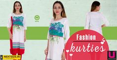 Check out our updated collection of casual kurtis. Here:http://nextsize.in/ #Next Size