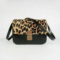 Celine Classic Box Large Flap Bags Leopard C0072 Handbags Nz Designer