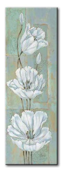 BNT_154_Florentine Tulips / Cuadro Flores Vintage