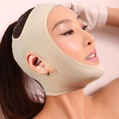 These face bands are popular in Hong Kong to keep your face tight. Anyone stateside swear by them?