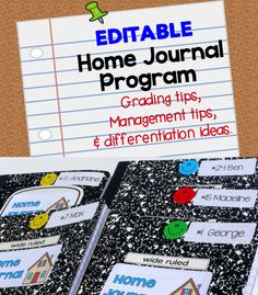 I was surprised at how much my students' reading improved after I started this. Editable Home Journal program. Paid