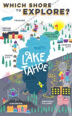 Visiting Lake Tahoe: North Shore or South Shore?