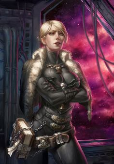 """a-40k-author: """"Inquisitor Lilith Abfequarn by Speeh. """""""