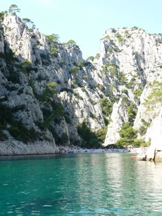 The Calanques in the South of France