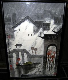 Mouse over image to zoom  Have one to sell? Sell it yourself  ORIENTAL ART JAPANESE OR CHINESE CHARCOAL PRINT HIGH QUALITY