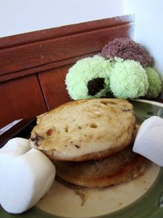 Mores Pancakes Recipe- delicious, ooey, gooey pancakes stuffed with ...