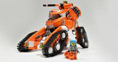 Da Brickpimp iz bringing you da latest an' greatest builder models an' LEGO® news from all ova da internet and shiz. Plastic brick creations, by adults, for adults. Lego Robot, Lego Lego, Robots, Lego Army, Lego Military, Lego Track, Lego Ship, Lego Mechs, Pranks