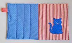Battersea's kitty cushion