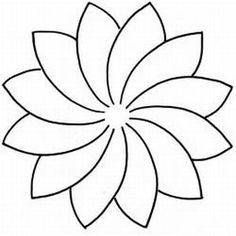 Flower Template Design