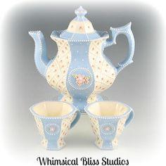 Whimsical Bliss Studios - Blue Springtime Set