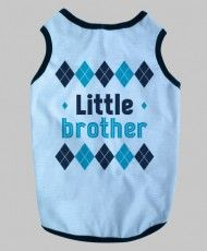 Little Brother Dog Tanktop